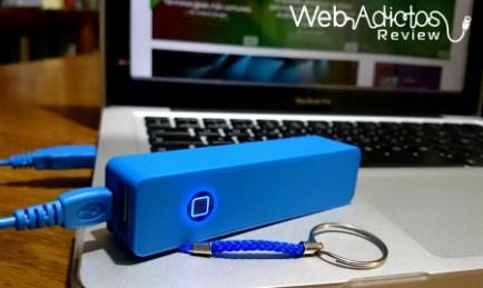 Baterías Portátiles Acteck XPLOTION, atractivas, divertidas y muy útiles - Led-azul-power-bank-PB200-acteck-Xplotion-450x278