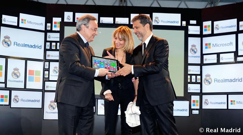 Microsoft y Real Madrid anuncian acuerdo digital estratégico - Microsoft-y-Real-Madrid