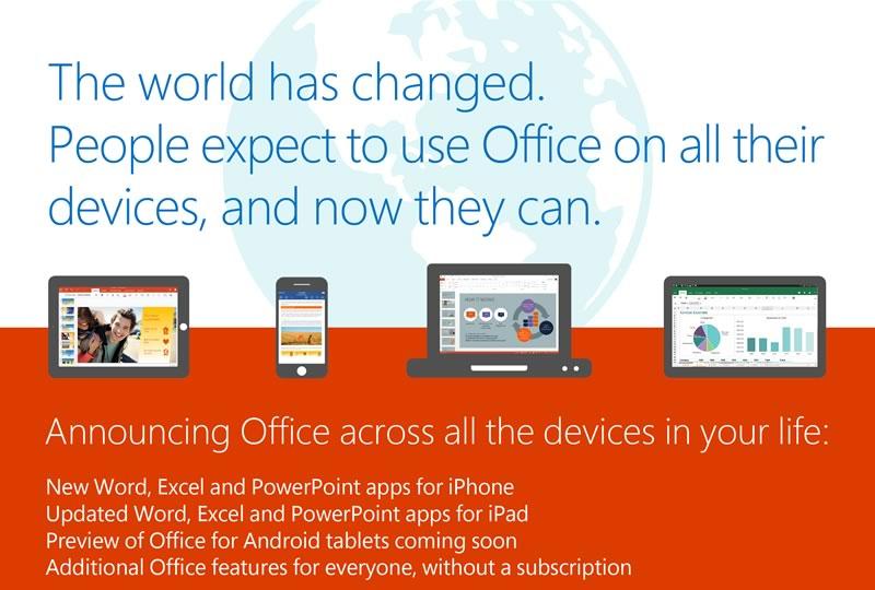 Office gratis para iPhone ya es una realidad - Office-gratis-para-iPhone-iPad-Android