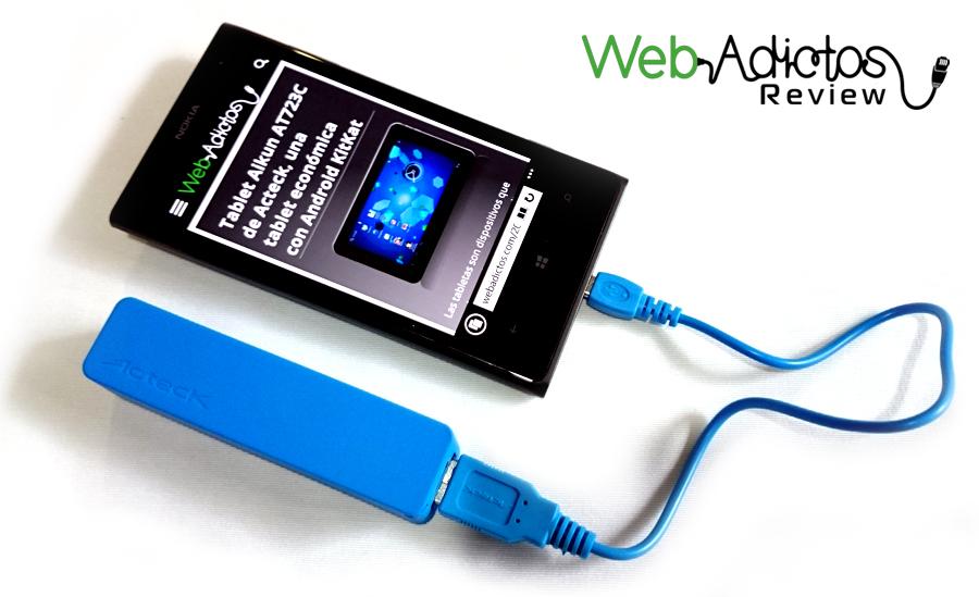 Baterías Portátiles Acteck XPLOTION, atractivas, divertidas y muy útiles - PB-200-Bateria-portatil-Xplotion-Acteck