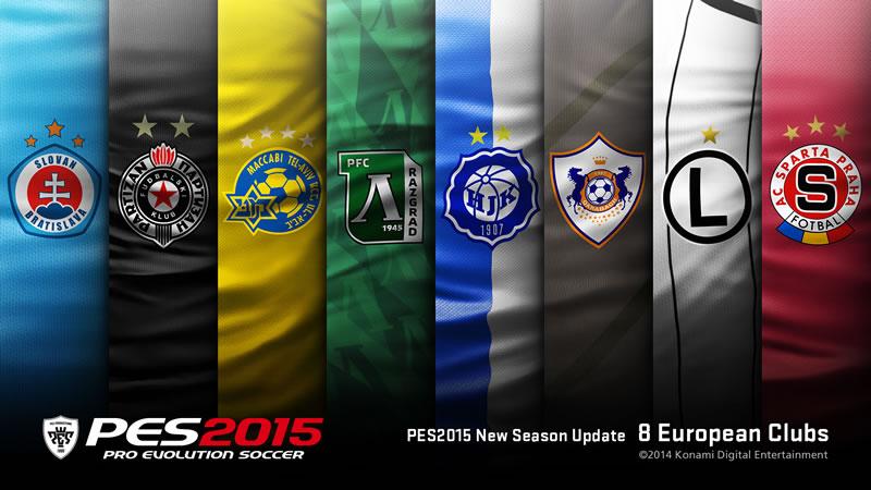 Pro Evolution Soccer 2015 prepara su salida este 13 de noviembre - PES-2015-nuevos-equipos