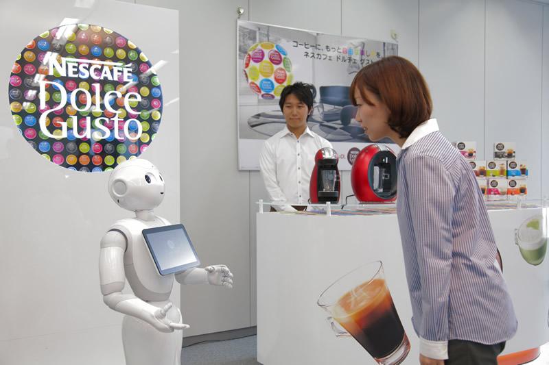 Pepper, el robot humanoide que venderá Nescafé en Japón - Pepper-Robot-Humanoide-Nescafe
