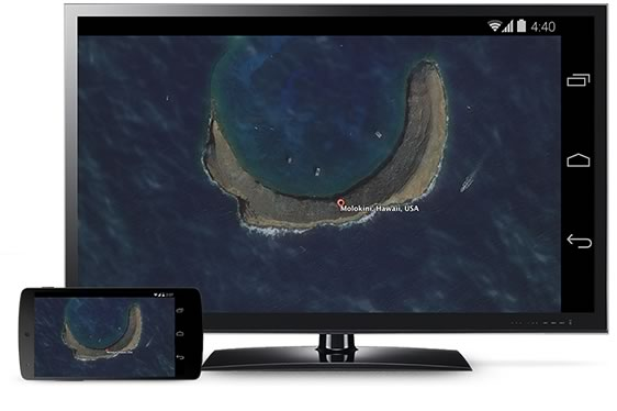 10 cosas que debes saber del Chromecast de Google - Proyectar-pantalla-Android-a-TV