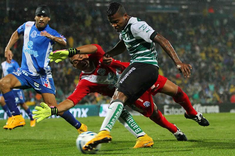 Puebla vs Santos, Jornada 17 del Torneo Apertura 2014 - Puebla-vs-Santos-en-vivo-Apertura-2014
