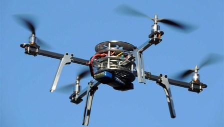 Diseña UANL helicóptero no tripulado de cuatro hélices