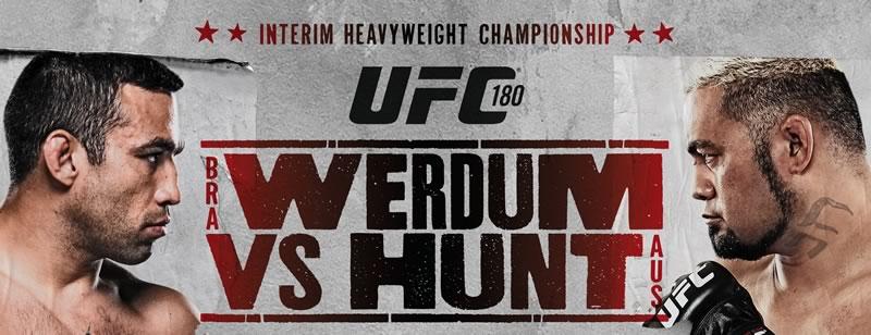 Sigue la UFC 180 por internet, Werdum vs Hunt este 15 de noviembre - UFC-180-en-vivo-Werdum-vs-Hunt