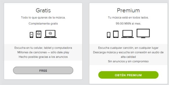 Spotify gana más con usuarios premium que con la publicidad - cuentas-spotify