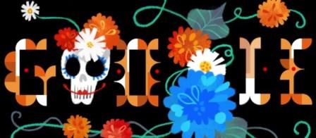 Google presenta doodle animado por el día de muertos