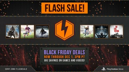 Venta Flash de videojuegos en PlayStation Network por el Black Friday