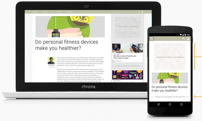 Google está probando un modelo de suscripción para no ver ads en tus sitios favoritos - googl-contributor