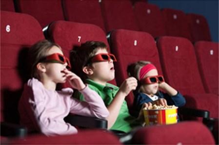 Películas en 3D pueden ser malas para la vista de los niños