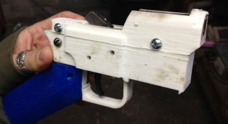 Impresión de pistolas en 3D cada vez más preocupante