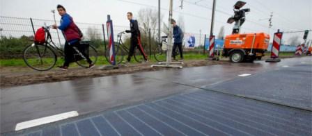 SolaRoad, el proyecto que utiliza las calles para acumular energía solar