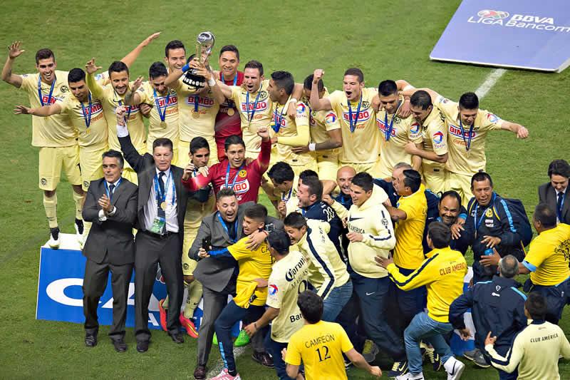 América se coronó Campeón del Apertura 2014 - Aguilas-del-America-campeon-apertura-2014