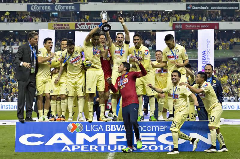 América se coronó Campeón del Apertura 2014 - America-campeon-apertura-2014