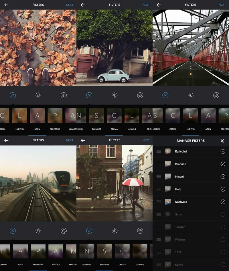 Instagram añade cinco nuevos filtros a su app - Filtros-Instagram