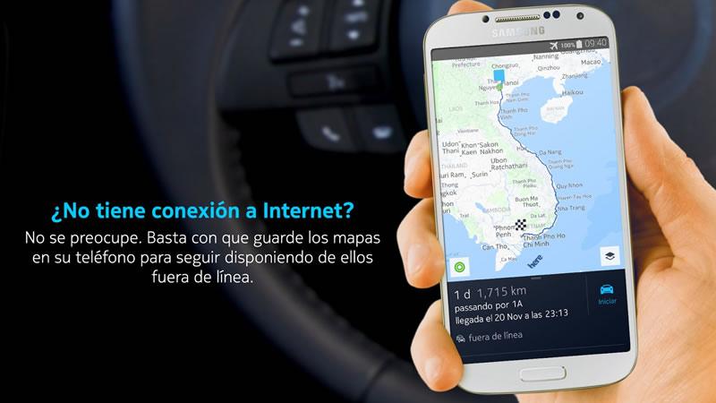HERE Maps ya está disponible gratis para Android - HERE-maps-para-Android
