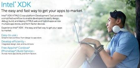 Conoce Intel XDK, el IDE para el desarrollo de apps móviles con HTML5 de Intel