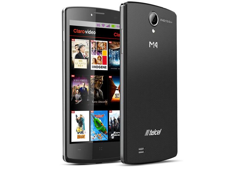 El smartphone M4 In Touch SS4040 es presentado en México - M4-In-Touch-SS4040-Mexico
