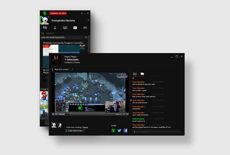 Razer Comms ya permite ver transmisiones en vivo de Twitch - Razer-Comms-Twitch
