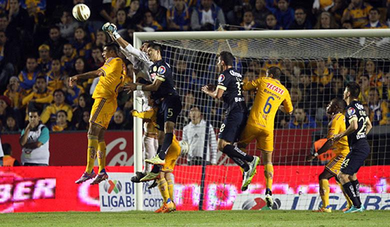 Tigres se llevó la victoria en la ida de la Final del Apertura 2014 - Resultado-Final-Tigres-vs-America-Apertura-2014-IDA