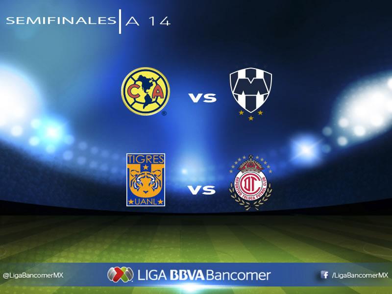 Listas las semifinales del Apertura 2014 en la Liga MX (Horarios y fechas) - Semifinales-Liguilla-Apertura-2014-Horarios-y-fechas