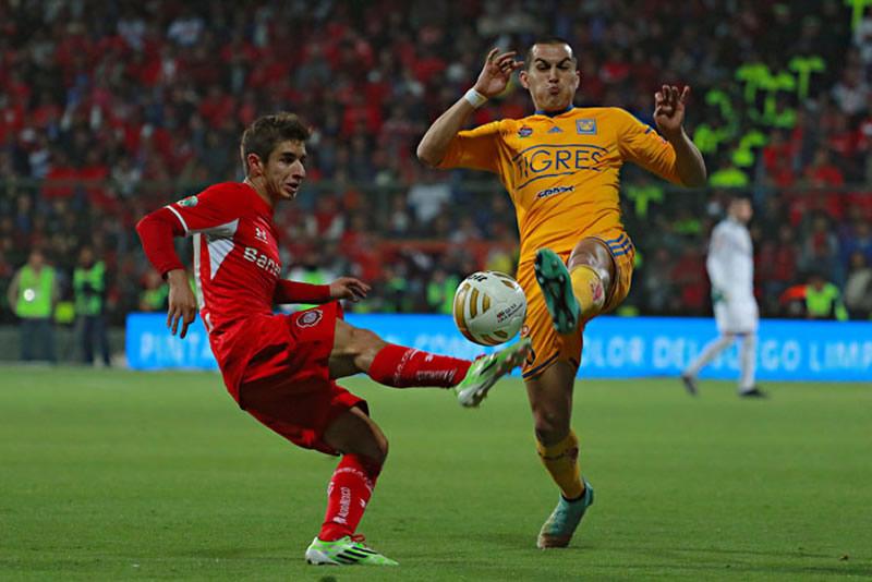 Las Águilas van que vuelan a la final; mientras que con Tigres y Toluca aún no hay nada claro - Tigres-vs-Toluca-semifinal-Apertura-2014-IDA-Resultado