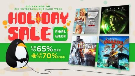 Ofertas de la última semana Navideña en PlayStation Network