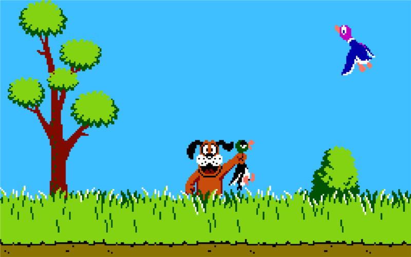 Duck Hunt de NES llegaría a Wii U este 25 de Diciembre - duck-hunt-wii-u