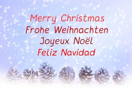 Cómo decir Feliz Navidad en varios idiomas ¡No te quedes con la duda!