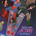 DC Comics adaptará portadas de cine a sus ediciones de marzo, ¡Conócelas! - portada-alternativa-de-action-comics