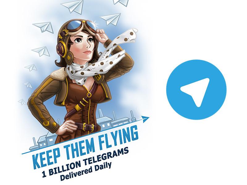 Telegram ya envía 1 billón de mensajes diariamente - telegram