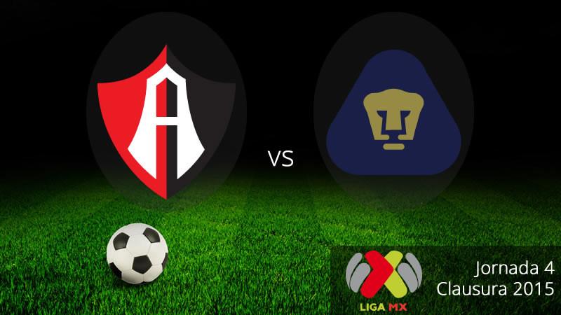 Atlas vs Pumas, Jornada 4 del Clausura 2015 - Atlas-vs-Pumas-en-vivo-Clausura-2015-800x450