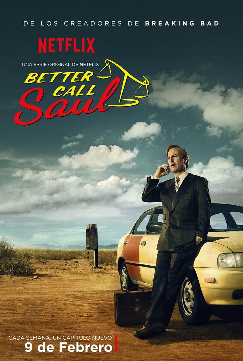 Better Call Saul se estrena en Netflix el 9 de febrero - Better-Call-Saul-Estreno-Netflix
