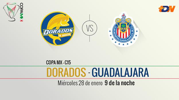 Chivas vs Dorados, Copa MX Clausura 2015 (vuelta llave 1) - Chivas-vs-Dorados-en-vivo-Copa-MX-Clausura-2015-Vuelta