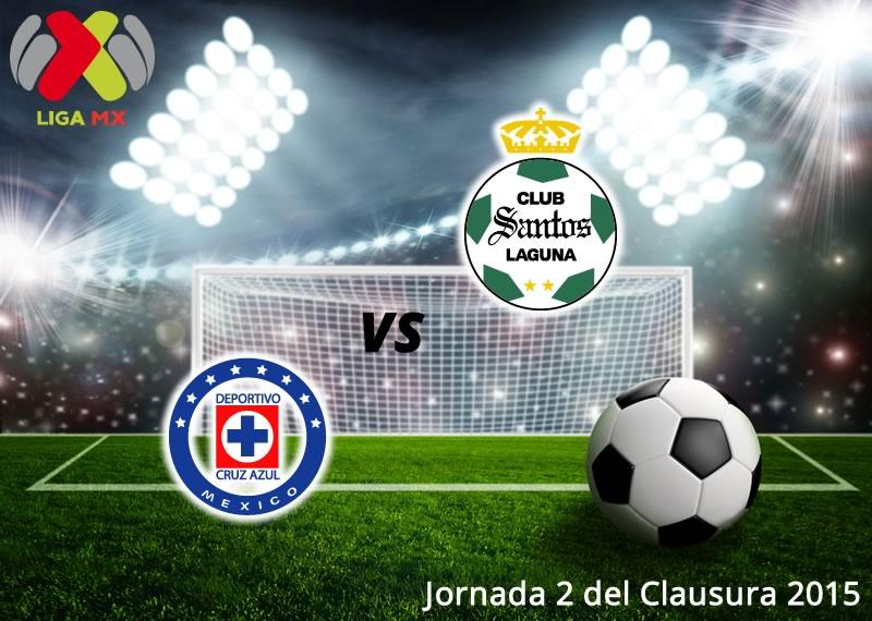 Cruz Azul vs Santos, Jornada 2 del Clausura 2015 - Cruz-Azul-vs-Santos-en-vivo-Clausura-2015-jornada-2