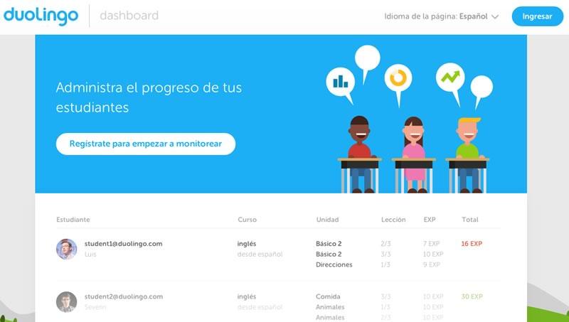 Duolingo lanza una plataforma para escuelas - Duolingo-para-escuelas-gratis
