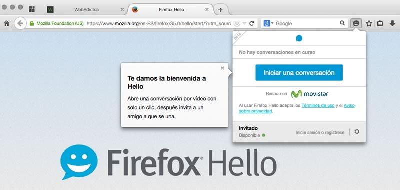 Firefox Hello permite hacer video llamadas desde el navegador - Firefox-Hello-llamadas-gratis