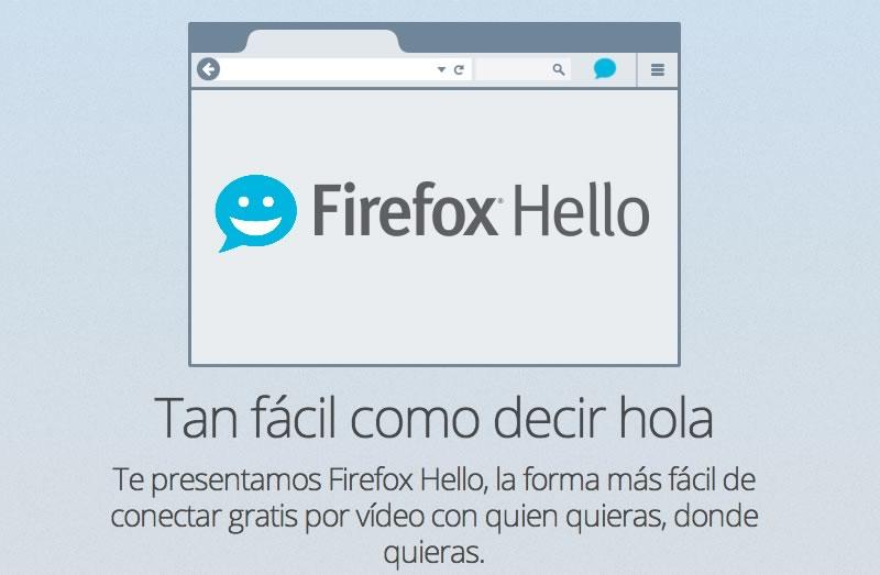 Firefox Hello permite hacer video llamadas desde el navegador - Firefox-Hello-video-llamadas-gratis