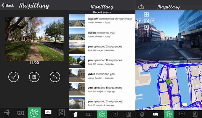 Mapillary lanza nueva app para iOS y recibe inversión de Sequoia Capital - Mapillary-App-iOS