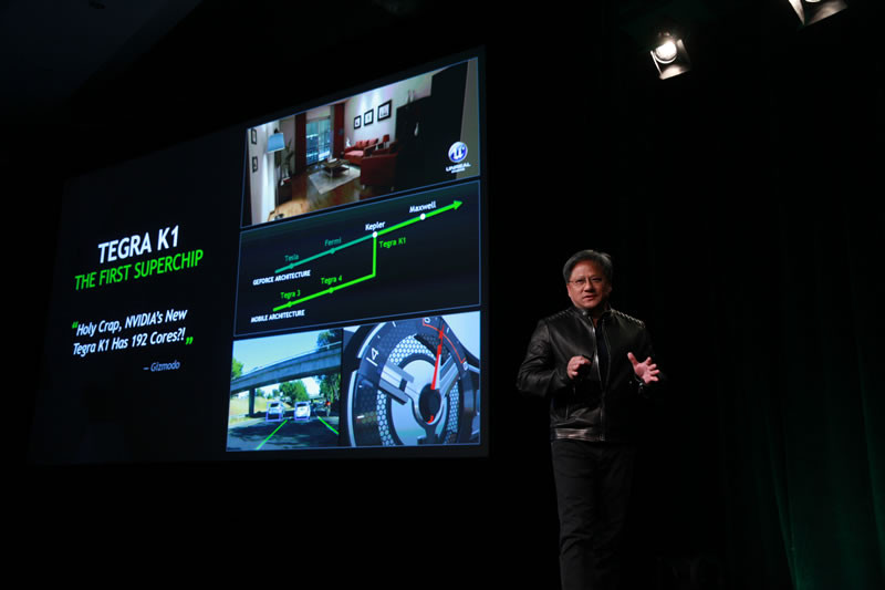 Tegra X1, el primer procesador móvil de NVIDIA es presentado en CES 2015 - NVIDIA-Tegra-X1-CES-2015-800x533