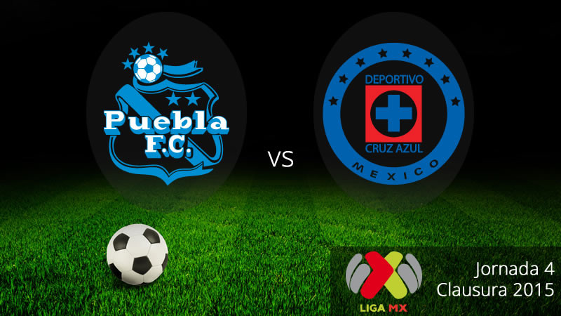Puebla vs Cruz Azul, Jornada 4 del Clausura 2015 Liga MX - Puebla-vs-Cruz-Azul-en-vivo-Clausura-2015-800x450