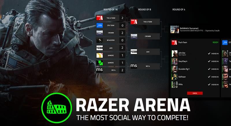 Razer Arena, la plataforma de Razer para competir con otros gamers - Razer-Arena-competencia-gamers