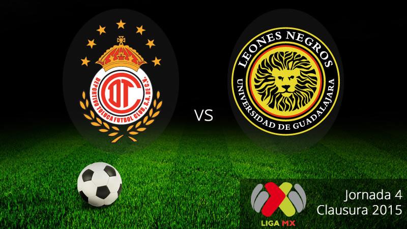 Toluca vs Leones Negros, Jornada 4 del Clausura 2015 - Toluca-vs-Leones-Negros-UDG-en-vivo-Clausura-2015-800x450
