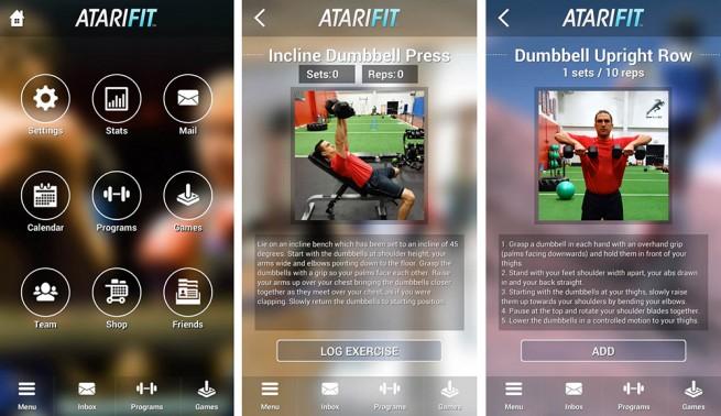 Atari Fit, la app que te regala videojuegos por hacer ejercicio - atari-fit