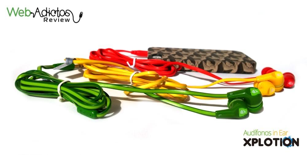Audífonos In-Ear Xplotion de Acteck con aislamiento de sonido y ¡sin enredos! - audifonos-in-Ear-xplotion-EB-800-Acteck-colores