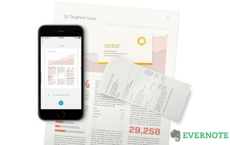 Scannable, la app para escanear documentos de Evernote