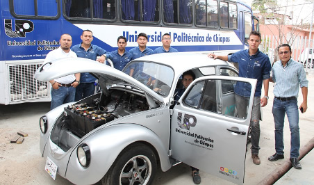Crean auto eléctrico en la Universidad Politécnica de Chiapas - Auto-electrico-Universidad-Politecnica-de-Chiapas