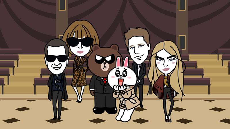 LINE lanza un cortometraje animado junto con Burberry - Burberry-y-LINE-cortometraje-animado