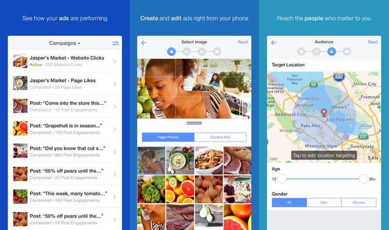 Facebook lanza app Facebook Ads Manager para administrar anuncios - Facebook-Ads-Manager